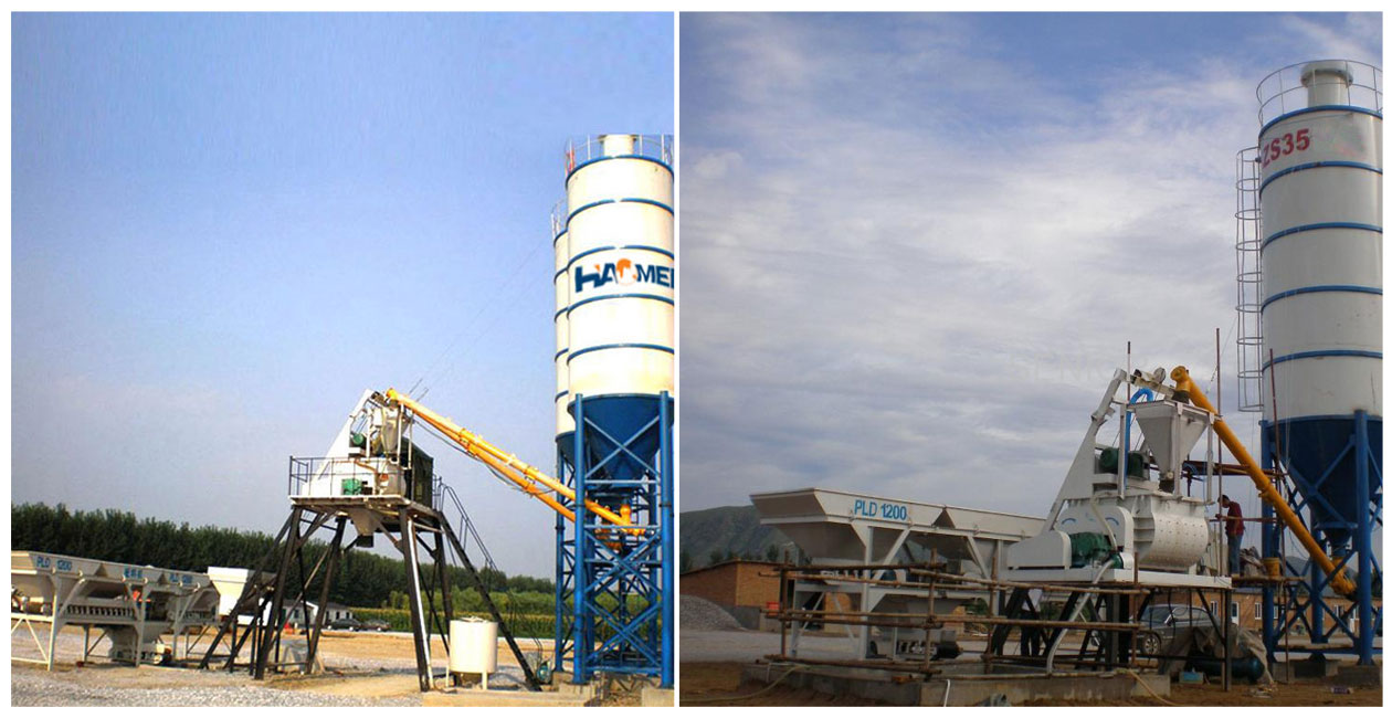 Move the Mini Concrete Batching Plant Philippines