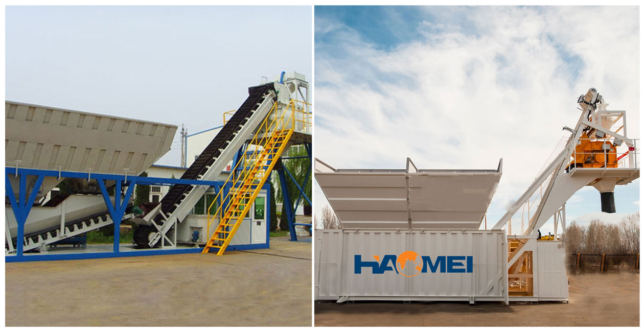 Mobile Wet Mix Concrete Batching Plant in Philippines